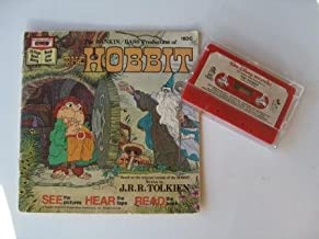 Walt Disney Storry teller The Hobbit The Rankin/Bass Production, Book and Tape 24 Page Read-Along.