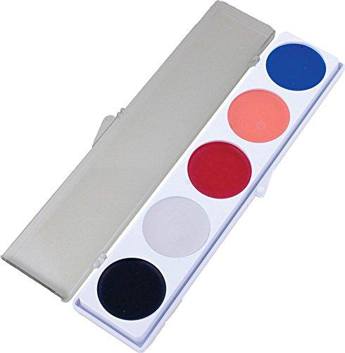 Mehron payaso Paletas de maquillaje (5 colores)