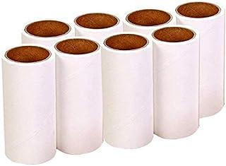 BPS Quitapelusa para Mascotas [8 Rollos (60 Hojas/Roll)] Cepillo de Limpieza para Hogar Removedor de Polvo Pegajoso Recole...