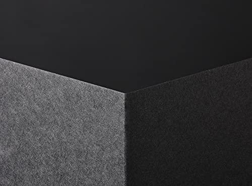 Extract Pitch Papel negro contiene tazas de café recicladas, 130 g/m², 10 hojas