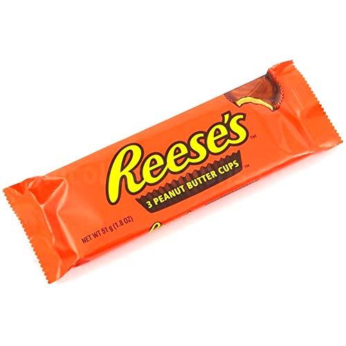 Hershey's Reese's Peanut Butter Cups - 51 gr, [pack de 10, 510 gr]
