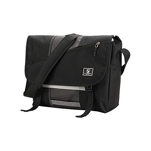 OIWAS Messenger Bag Satchel Leisure Canvas 15 Inch Laptop Shoulder Briefcase Pack Crossbody Backpack for Men Women Teens