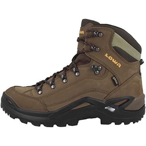Lowa Men's RENEGADE GTX MID High Rise Hiking Boots, Weiß (Sepia 0455),10 UK/44.5 EU