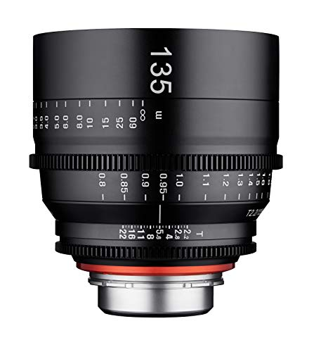 Samyang XEEN - Objetivo (135 mm, T2.2 FF, Cine PL)