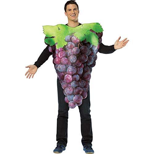 Purple Grapes Adult Fancy dress costume Standard