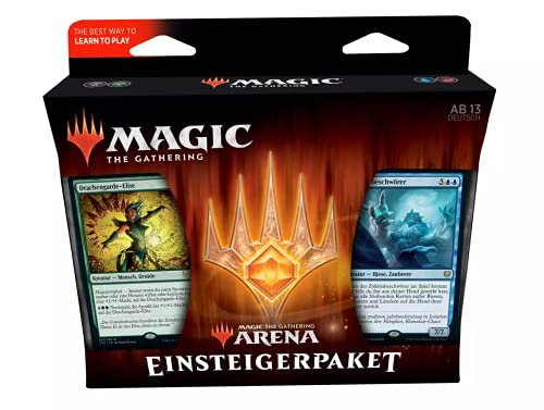 Magic The Gathering Arena Einsteigerpaket 2021 Deutsch + Womanda Dextro Energy
