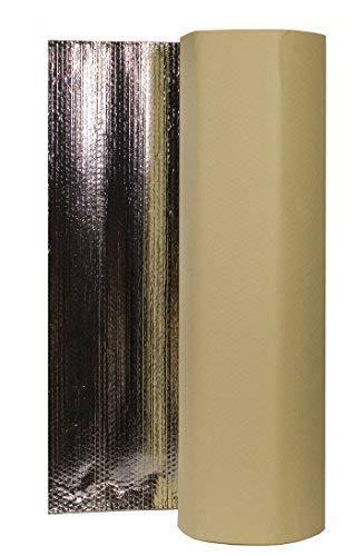 Solar Bay SAB-15 Selbstklebend Wohnwagen Isolierung - Silbern, 15m