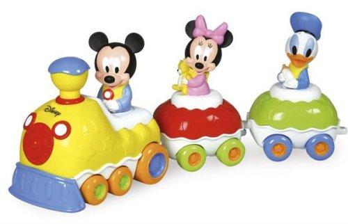 Clementoni - 14287 - Jouet Premier Age - Bébé Disney - Le Train Musical De Mickey Et Ses Amis