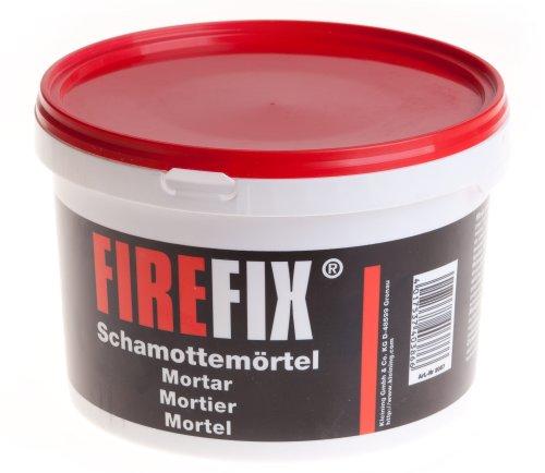 FIREFIX 2083 2057 Schamotte-Mörtel, 2.500 g