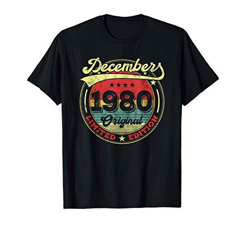 40 Anni Compleanno Uomo Donna Regalo Divertente Vintage Maglietta