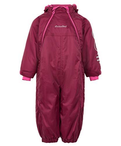MINYMO Baby Girl Schneeanzug 2 Zipper 104