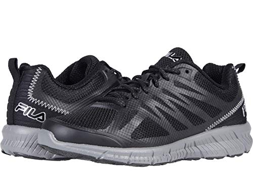 Fila Womens Speedstride TR Fitness Trail Running Shoes Black 8.5 Medium (B,M)