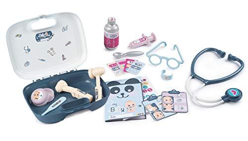 Smoby- Baby Care Maletín Médico para muñeco bebé (Simba 240301)