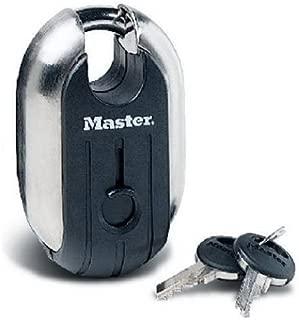 Master Lock Padlock, Titanium Series Stainless Steel Lock, 2-5/16 in. Wide, 187XD