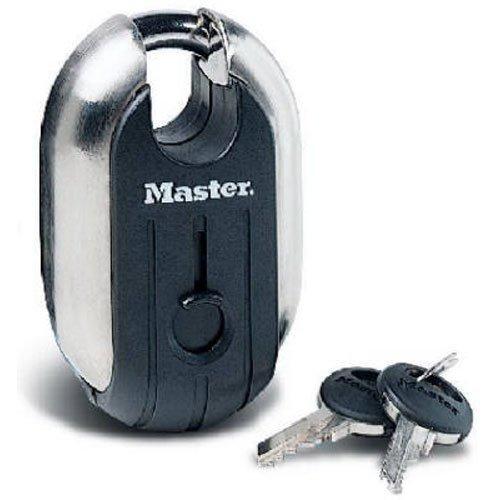 Master Lock Vorhängeschloss, Titan-Serie, Edelstahl, 5,1 cm Breite, 187XD