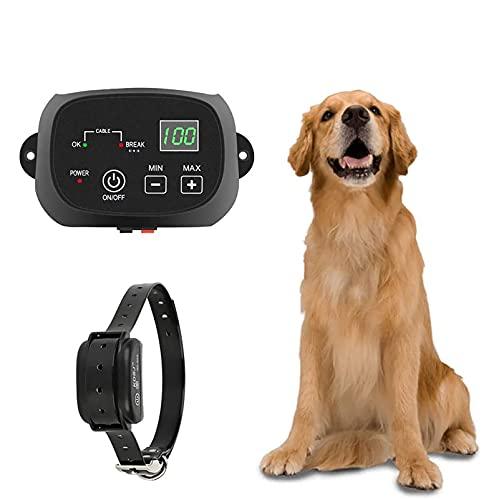 NXX Valla para Perros Tercos sobre El Suelo Valla Eléctrica para Mascotas...