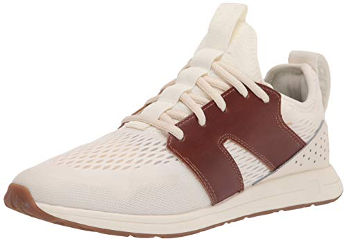 York Athletics The Frank Running Sneaker, Lifestyle Sneaker, Unisex Running Shoe (6.5 Women/5 Men, Bone & Tan)
