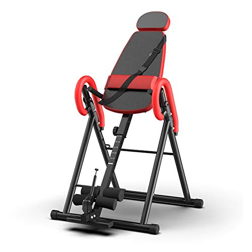 Check Out This LieYuSport Inversion Table Foldable,Back Stretcher Machine with Backrest with Lumbar ...