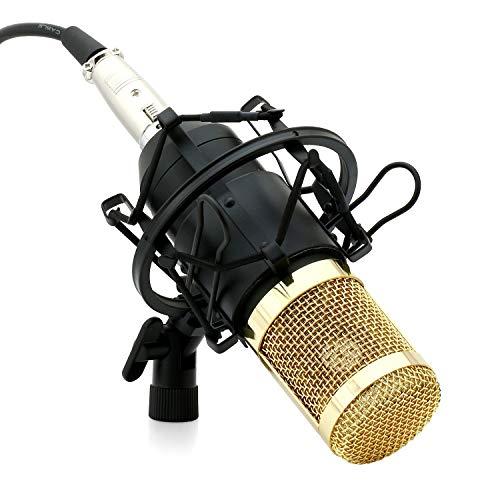 Powerpak BM 800 Black Professional Condenser Microphone Mic Sound Studio Recording Dynamic (Requires Phantom Power)