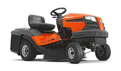 Husqvarna TC 130 Garden tractor - Tractores cortacésped (Garden tractor, Motor de gasolina, 77 cm, 3,8 cm, 10,2 cm, Negro, Naranja)