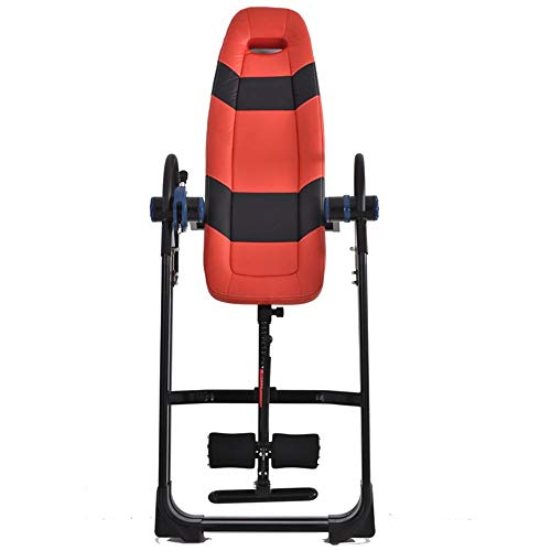 Cheapest Prices! Inversion Table Premium Foldable Gravity Inversion Table Waist Inflatable Adjustmen...