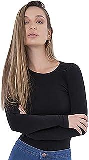 Carina Under Shirt - Body Long Sleeve for Women - Cotton