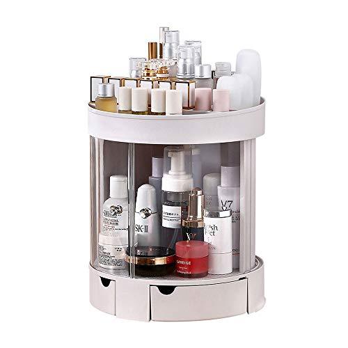 Organisateurs de maquillage Coffrets d'affichage for le stockage des cosmétiques de comptoir convient aux cosmétiques, bijoux, pinceaux à maquillage, rouges à lèvres et plus, organisateur de maquillag
