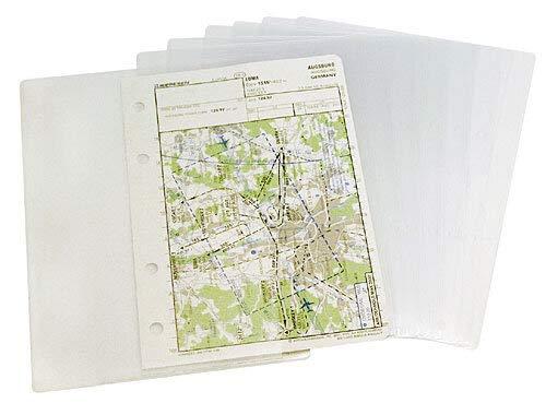 Design 4 Pilots Design 4 Pilots 10 Pieces Transparent Pockets A6 for Professional Reduced Size Kneeboard