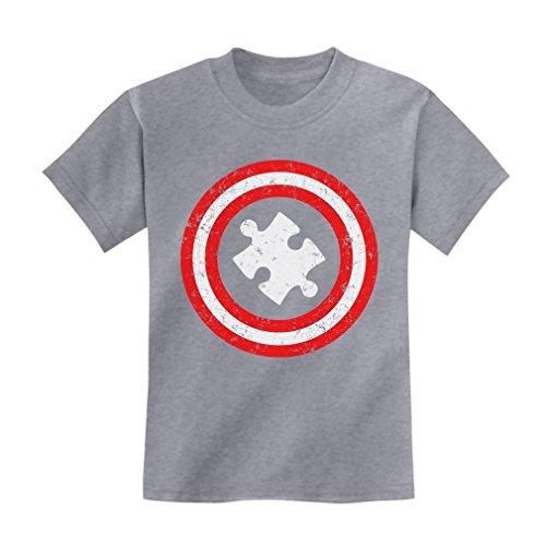 Light It Up Blue Kids Sweatshirt TeeStars Autism Awareness Blue Ribbon