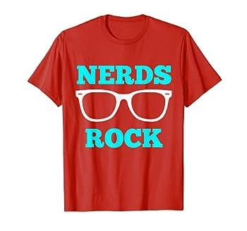 Nerds Rock T Shirt Gamer Geek Fun Cute Nerd Shirt Boy Girl