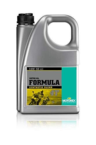 Motorex Formula SAE 10W/40 synthetisch. 4 liter.
