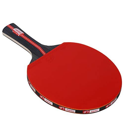 YXDDG TischtennisschläGer Jugend Ping Pong SchläGer Set 2 Tischtennis-SchläGer Und 3 Tischtennis-BäLle Geeignet FüR AnfäNger Und Fortgeschrittene