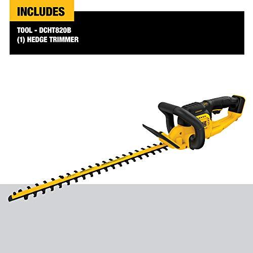 DEWALT DCHT820B Hedge Trimmer, Black/Yellow