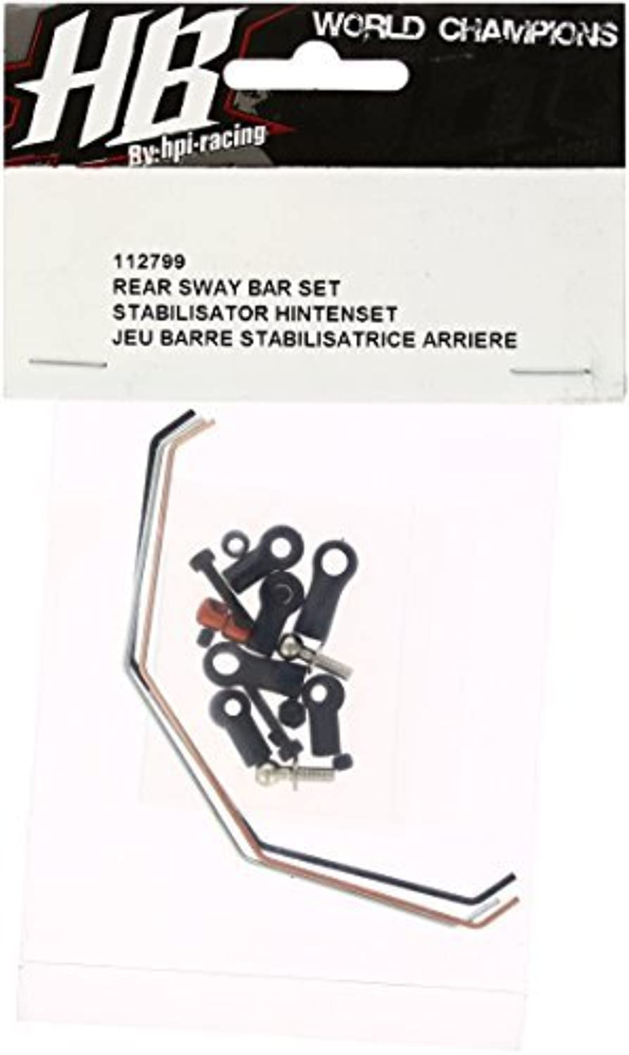HOT BODIES 112799 Rear Sway Bar Set D413 by Hot Bodies