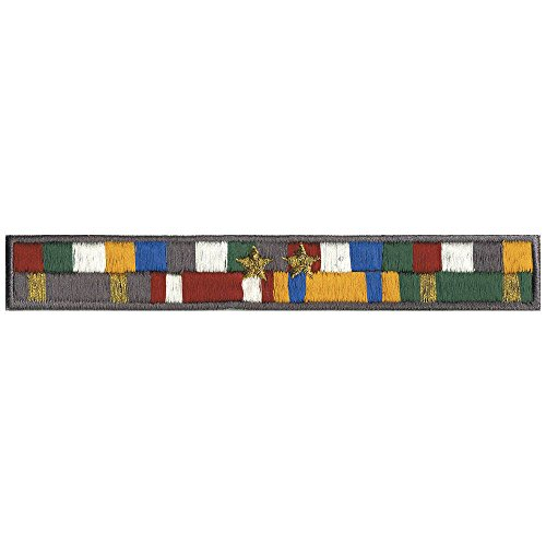 AUFNÄHER - Nationalflagge - 04739 - Gr. ca. 13,6 x 1,9 cm - Patches Stick Applikation