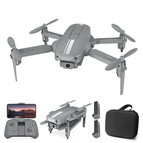 XIAOKEKE Mini Drone con Telecamera 4K FPV HD GPS per Principianti Bambini, Quadricottero 2.4Ghz WiFi Controllo dei Gesti, Piccolo Kit Drone Professionale, 2 Batterie
