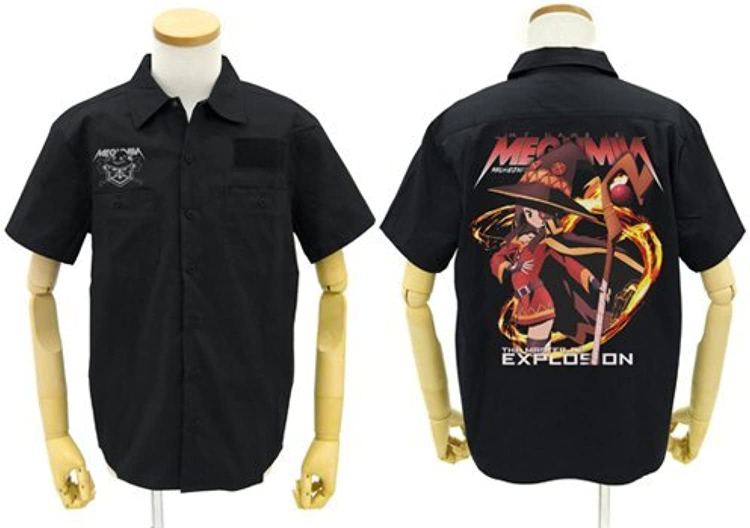40% de descuento Megumin full Color work work work shirt negro M Talla blessing to this wonderful world  elige tu favorito