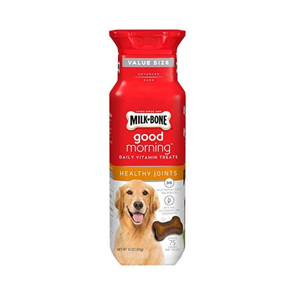 Milk-Bone Daily Vitamin Chewy Dog Treats for Dogs of All Sizes