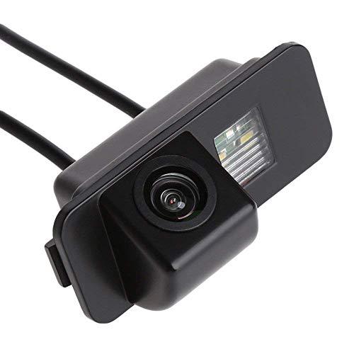 Kalakus Auto Rückwärtskamera in Kennzeichenleuchte Einparkhilfe Fahrzeug-Spezifische Kamera mit Wasserdicht integriert in Nummernschild Licht für Ford Mondeo/Fiesta/Focus HATCHBACK/S-Max/Kuga