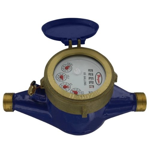 Dwyer Regular store Multi-Jet Water Meter WM2-A-C-07 GPM Spring new work one after another 160 2