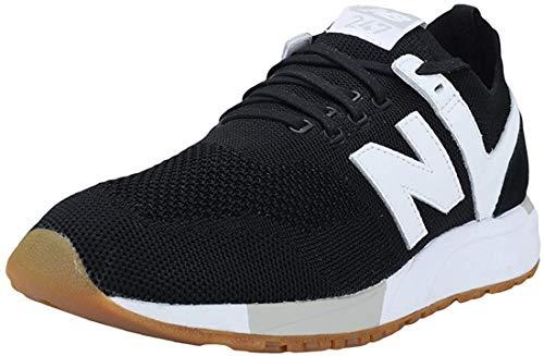 New Balance Zapatillas de Correr para Hombre 247 de Ante, Color Plateado (Plateado), 44,5 EU