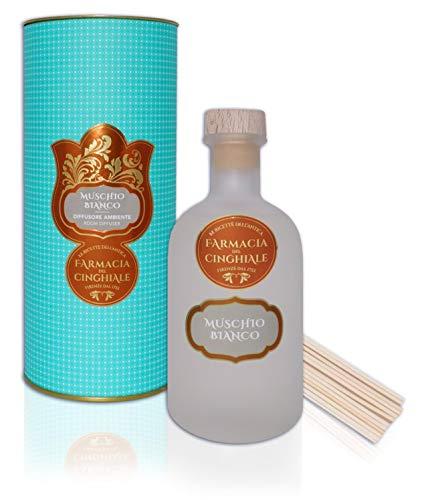 Room Diffuser White Musk Perfume en Sticks Fragancia almizclada Fresca y Floral de 250 ml