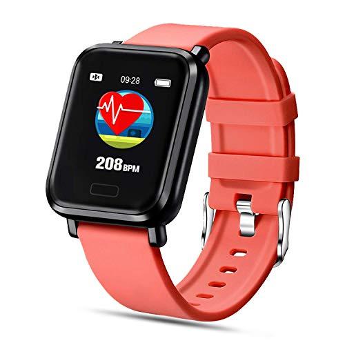 FENHOO Smartwatch, Fitness Uhr Fitness Tracker mit Pulsuhren Blutdruck Messgeräte Schrittzähler Wasserdicht IP68, Sportuhr mit Schlafmonitor Musiksteuerung für Herren Damen Stoppuhr für iOS Android