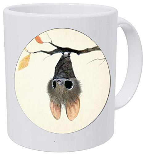 bab Little Baby Bat Collar para niños Joyería de Moda Cristal Cabujón Animal Super Lindo Dibujos Animados Colgante Taza de Café