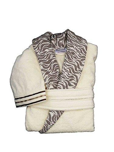 Lujo Albornoz Mujer Hombre 100% algodón absorbente abrigo