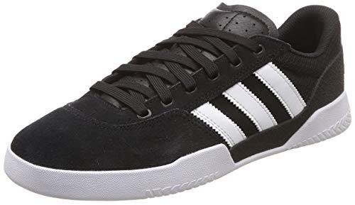 adidas City Cup, Zapatillas de Skateboard Hombre, Negro (Cblack/Ftwwht/Ftwwht Cblack/Ftwwht/Ftwwht), 36 EU