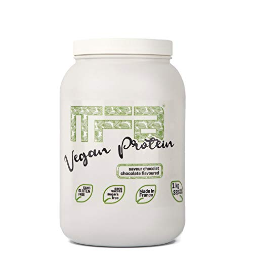 My Fit Body - Proteína Vegana - Origen Vegetal - Integratore Sportivo - Migliora la Performance Sportiva - Proteína de Guisante - Aumenta tu Masa Muscular - Sabor a Chocolate - 1 Kg