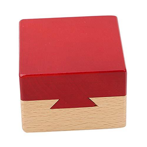 VIDOO Boîte Magique en Bois Jeu De Puzzle Luban Serrure Puzzle Jouet pour Enfants Jouets Éducatifs Adultes Jeu De Casse-Tête