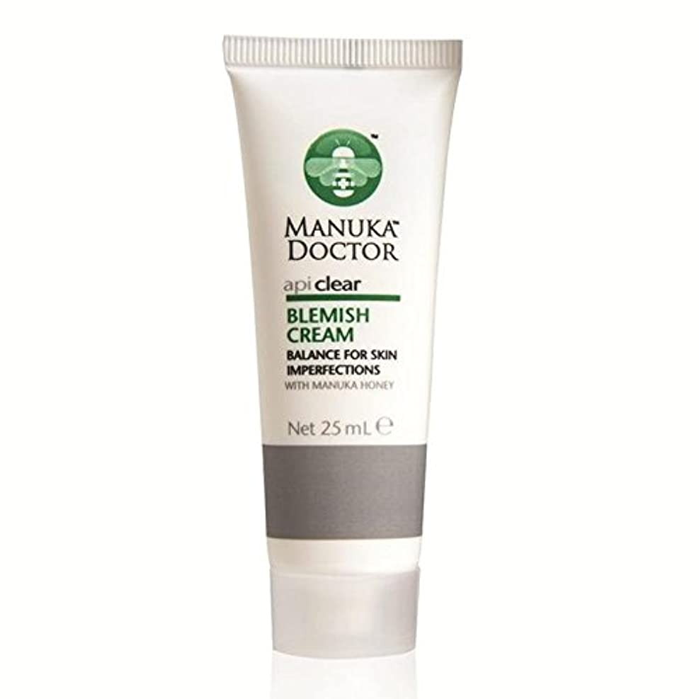 姪カウボーイ傑出したマヌカドクター明確な傷クリーム25ミリリットル x4 - Manuka Doctor Api Clear Blemish Cream 25ml (Pack of 4) [並行輸入品]