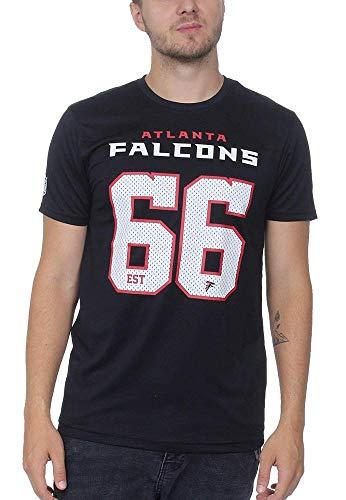 New Era Supporters Tee Men Atlanta Falcons Schwarz, Größe:L